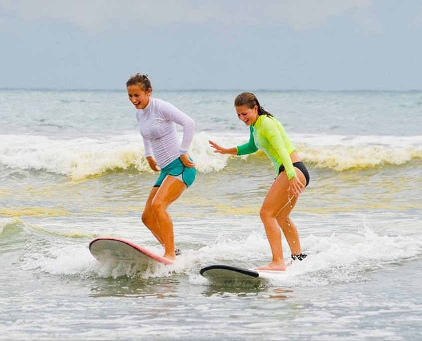 Riding the Gentle Waves in Costa Rica