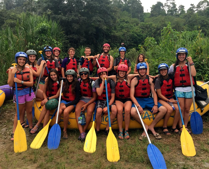 Getting ready to Raft in Ecuador