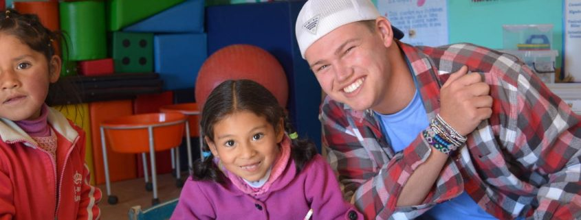 High School Student Teaching in Peru with ARCC