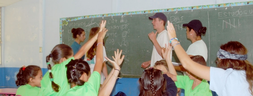 Teaching English on an ARCC Summer Volunteer Program in Costa Rica